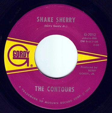CONTOURS - SHAKE SHERRY - GORDY