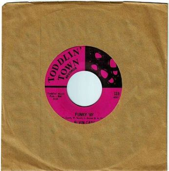 ALVIN CASH - FUNKY '69' - TODDLIN TOWN