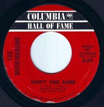 BUCKINGHAMS - DON'T YOU CARE - COLUMBIA