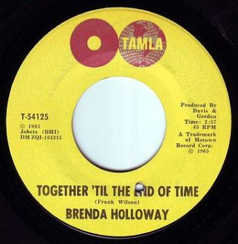 BRENDA HOLLOWAY - TOGETHER 'TIL THE END OF TIME - TAMLA