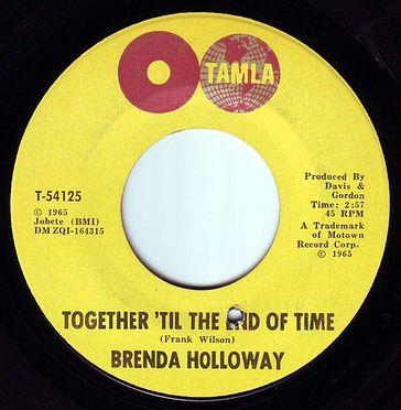 BRENDA HOLLOWAY - TOGETHER 'TIL THE END OF TIME - TAMLA