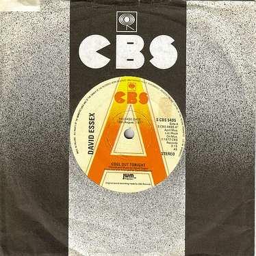 DAVID ESSEX - COOL OUT TONIGHT - CBS dj