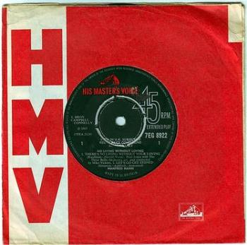 MANNFRED MANN - NO LIVING WITHOUT LOVING - HMV