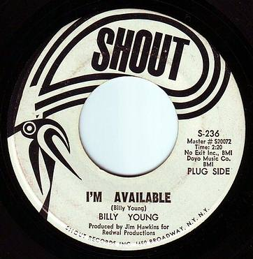 BILLY YOUNG - I'M AVAILABLE - SHOUT DEMO