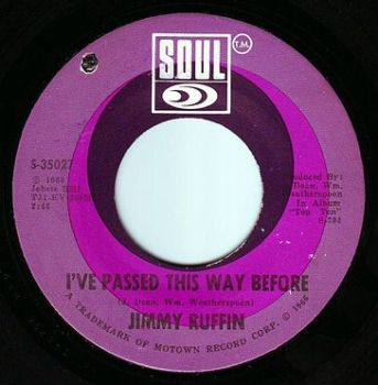 JIMMY RUFFIN - I'VE PASSED THIS WAY BEFORE - SOUL