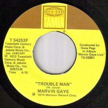 MARVIN GAYE - TROUBLE MAN - TAMLA
