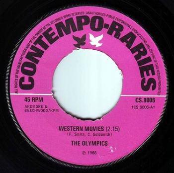 OLYMPICS - WESTERN MOVIES - CONTEMPO RARIES