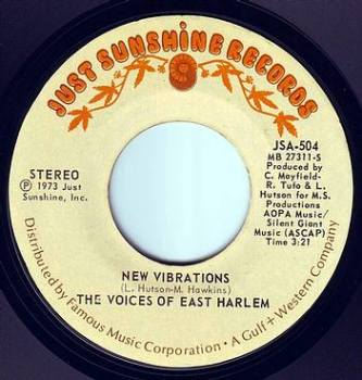 VOICES OF EAST HARLEM - NEW VIBRATIONS - JUST SUNSHINE