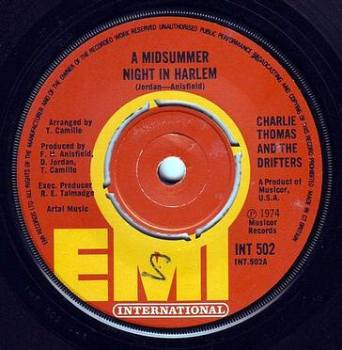 CHARLIE THOMAS & THE DRIFTERS - A MIDSUMMER NIGHT IN HARLEM - EMI