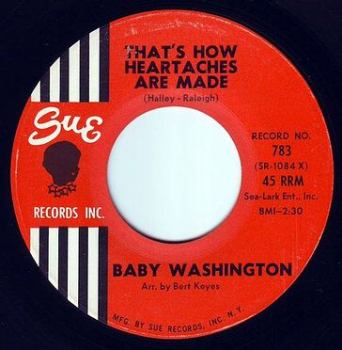 BABY WASHINGTON - THAT'S HOW HEARTACHES ARE MADE - SUE