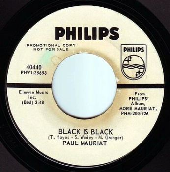 PAUL MAURIAT - BLACK IS BLACK - PHILIPS DEMO