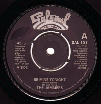 JAMMERS - BE MINE TONIGHT - SALSOUL