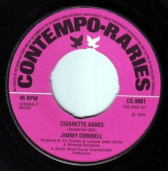 JIMMY CONWELL - CIGARETTE ASHES - CONTEMPO RARIES