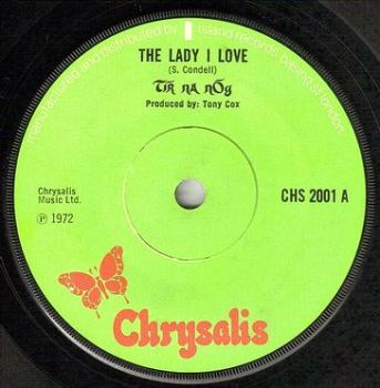 TIR NA NOG - THE LADY I LOVE - CHRYSALIS