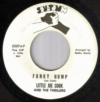 LITTLE JOE COOK - FUNKY HUMP - SOULTOWN