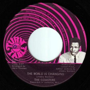 COASTERS - THE WORLD IS CHANGING - TURNTABLE