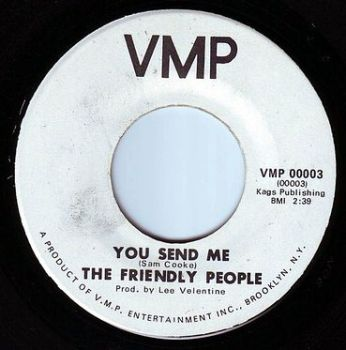 FRIENDLY PEOPLE - YOU SEND ME - VMP
