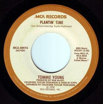 TOMMIE YOUNG - PLANTIN' TIME - MCA