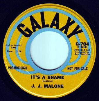J.J. MALONE - IT'S A SHAME - GALAXY DEMO