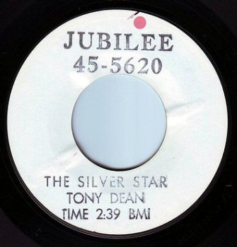 TONY DEAN - THE SILVER STAR - JUBILEE TEST PRESS