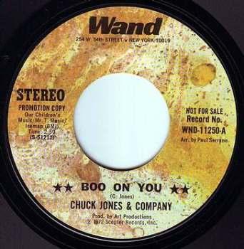 CHUCK JONES & COMPANY - BOO ON YOU - WAND DEMO