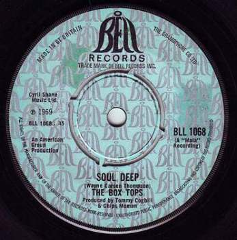 BOX TOPS - SOUL DEEP - BELL