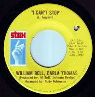 WILLIAM BELL & CARLA THOMAS - I CAN'T STOP - STAX