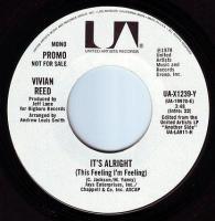 VIVIAN REED - IT'S ALRIGHT - UA DEMO