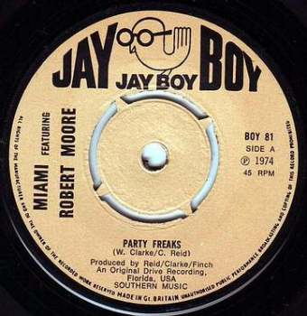 MIAMI - PARTY FREAKS - JAY BOY