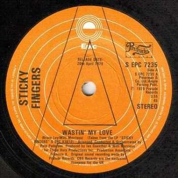 STICKY FINGERS - WASTIN' MY LOVE - EPIC dj
