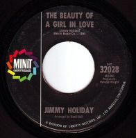 JIMMY HOLIDAY - THE BEAUTY OF A GIRL IN LOVE - MINIT