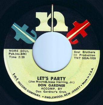 DON GARDNER - LET'S PARTY - TNT