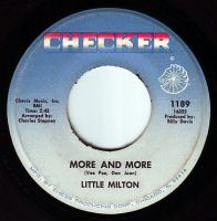 LITTLE MILTON - MORE AND MORE - CHECKER