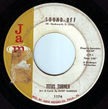 TITUS TURNER - SOUND OFF - JAMIE