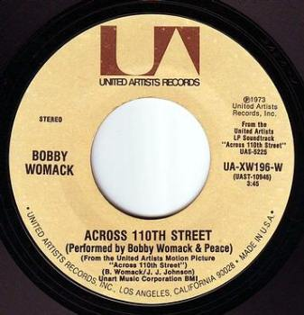 BOBBY WOMACK - ACROSS 110TH STREET - UA