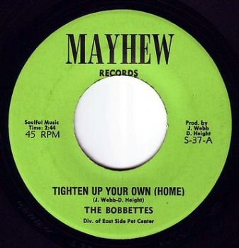 BOBBETTES - TIGHTEN UP YOUR OWN (HOME) MAYHEW