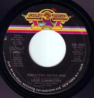 LOVE COMMITTEE - CHEATERS NEVER WIN - GOLD MIND