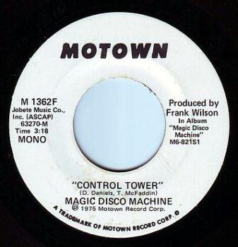 MAGIC DISCO MACHINE - CONTROL TOWER - MOTOWN DEMO