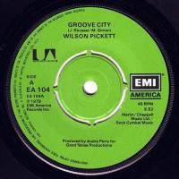 WILSON PICKETT - GROOVE CITY - EMI