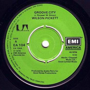 WILSON PICKETT - GROOVE CITY - EMI