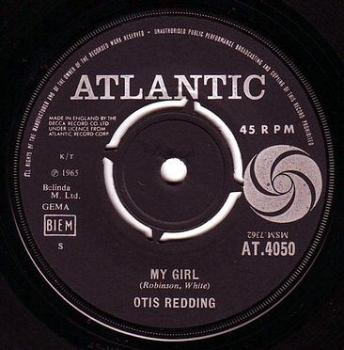 OTIS REDDING - MY GIRL - ATLANTIC