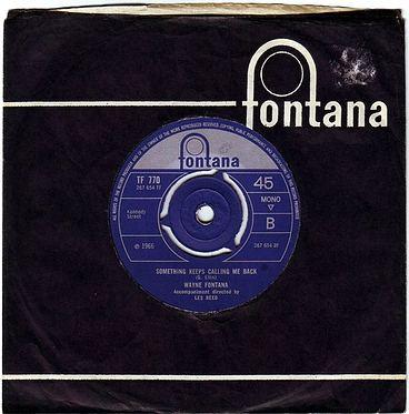 WAYNE FONTANA - SOMETHING KEEPS CALLING ME BACK - FONTANA