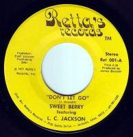 SWEET BERRY - DON'T LET GO - RETTA'S