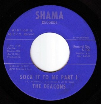 DEACONS - SOCK IT TO ME - SHAMA