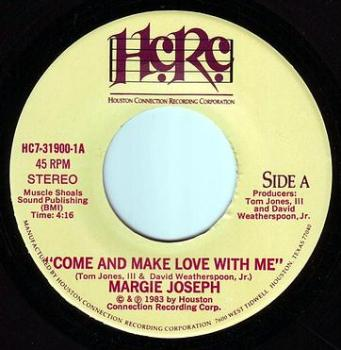 MARGIE JOSEPH - COME AND MAKE LOVE WITH ME - HCRC