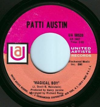 PATTI AUSTIN - MAGICAL BOY - UA