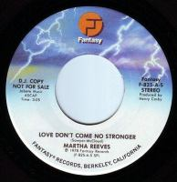 MARTHA REEVES - LOVE DON'T COME NO STRONGER - FANTASY DEMO