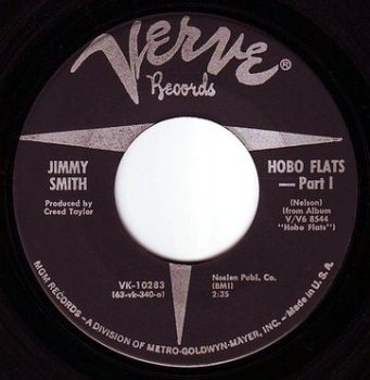 JIMMY SMITH - HOBO FLATS - VERVE