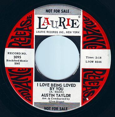 AUSTIN TAYLOR - I LOVE BEING LOVED BY YOU - LAURIE DEMO