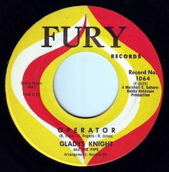 GLADYS KNIGHT & THE PIPS - OPERATOR - FURY
